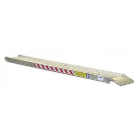 Duarib-RAMPE ALUMINIUM LONGUEUR 2.50 M LARGEUR 0.31 M AVEC REBORDS (vendu à l'unité) - 67600