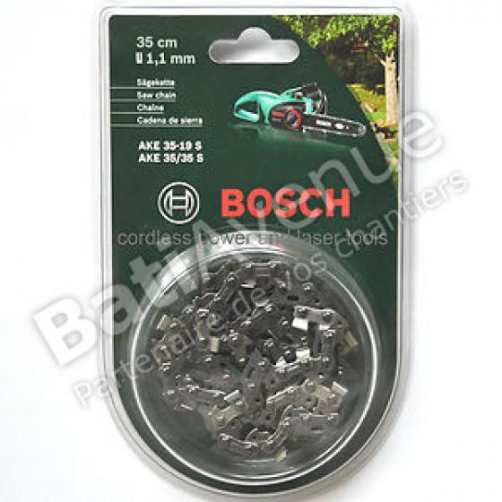 BOSCH JARDIN - Chaîne de tronçonneuse 35 cm pour AKE 35, 35S AKE 35-19S(1,1 mm ) -F016800257
