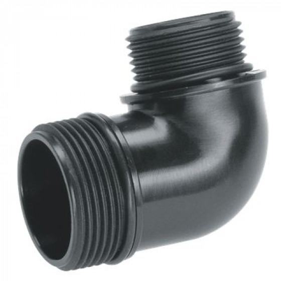 GARDENA- Adaptateurs pour pompes d'évacuation 42 mm (G 5/4) + 33.3 mm (G 1)-1744-20