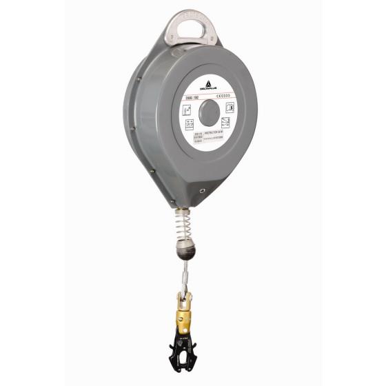 DELTA PLUS- PROTECTOR 25M ANTICHUTE A RAPPEL AUTOMATIQUE A CABLE + 1 AM020- 25 M-AN116F