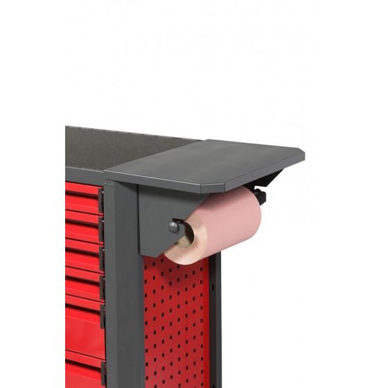 Allonge plan de travail avec support essuie-tout pour Servante d'atelier RUBI -APT12000