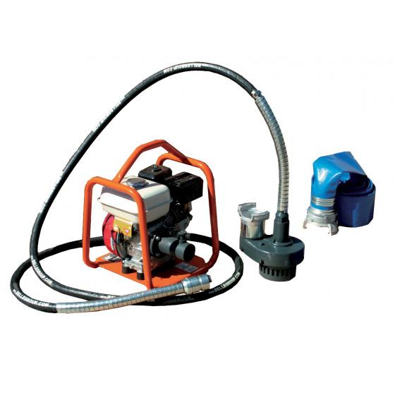 Pomps à câble ALTRAD submersible 70 m3/h avec gaine 5 m montées sur groupe moteur BGA - B1659047C