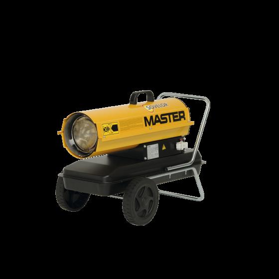 Chauffage SOVELOR air pulsé mobile au fuel combustion directe gamme Master-B70R