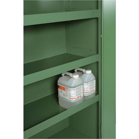 Bac de rétention pour armoire phytosanitaire 60x1188x415 SORI - 758229
