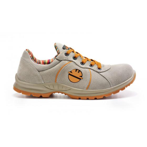 Chaussure de sécurité basse ADVANCE DIKE en daim gris clair S1P SRC - 237122000