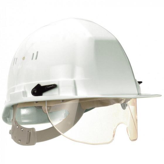 SOFOP TALIAPLAST-Casque polyéthylène à molette avec lunette intégrée Visiocéanic blanc- 564821