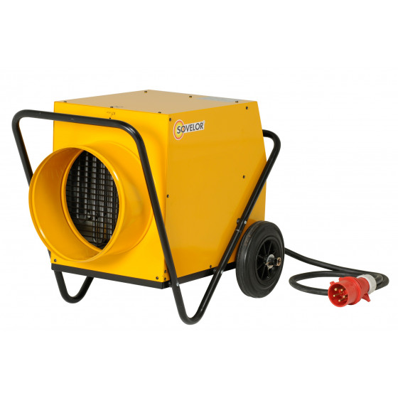 SOVELOR-Chauffage air pulsé électrique mobile gainable C18G