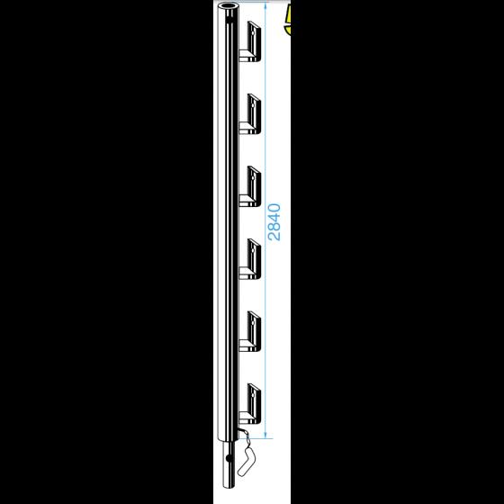 LAGNEAUX -Rallonges à planches de 3M peint - 27000300