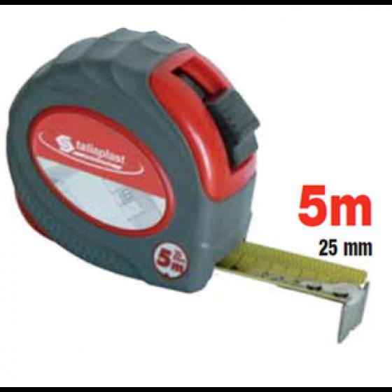 QUINTUPLE METRE BOITIER ROUGE BI-MATIERE 25mm SOFOP TALIAPLAST - 490702