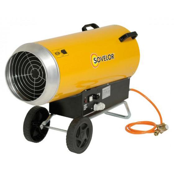 SOVELOR- Chauffages air pulsé mobiles au gaz propane à combustion directe - BLP103E