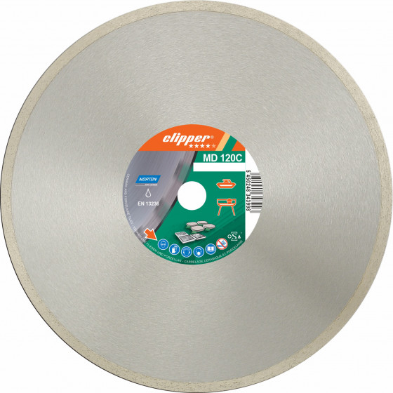 Disque diamant NORTON MD 120 C Ø 250 mm Alésage 25.4- 70184625097