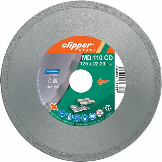 Disque diamant NORTON MD 110 CD Ø 125 mm Alésage 22.23 - 70184625940