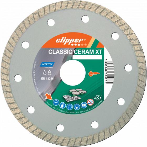 Disque diamant NORTON CLASSIC CERAM XT Ø 115 mm Alésage 22.23 - 70184627645