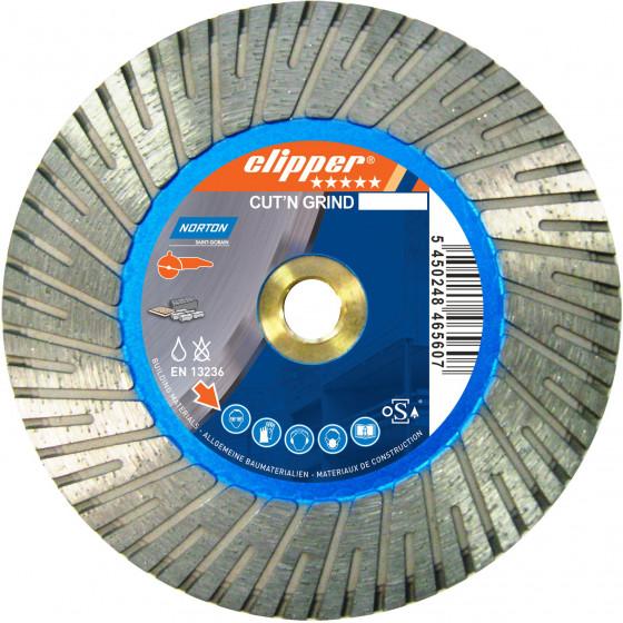 Disque diamant NORTON Cut'N GRIND  Ø 100 mm Alésage M14-70184641171