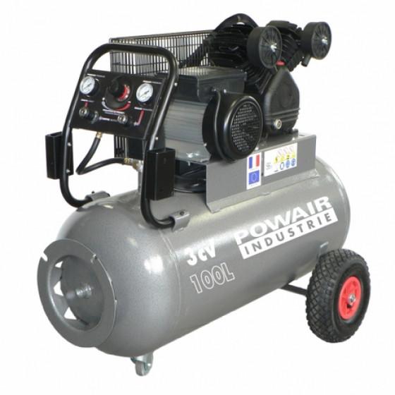 Compresseur à courroie 100L TRE 2210030 MG PRODIF