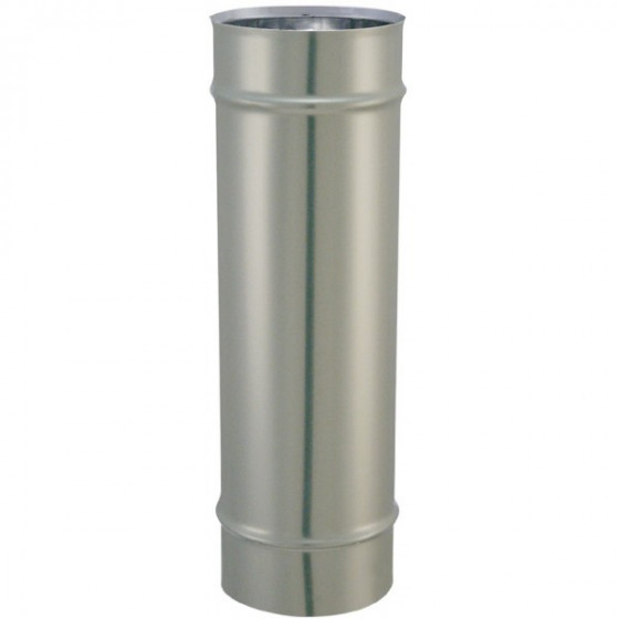 SOVELOR-CONDUIT DE FUMEE Ø 153 MM INOX SIMPLE PAROI-AC14
