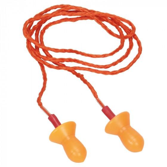 Sachet de 10 paires de bouchons d'oreille reutilisable en silicone DELTA PLUS- CONICSOF010