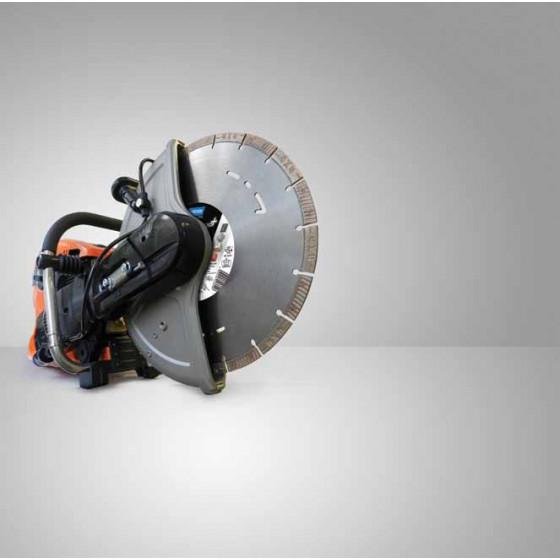 Découpeuse Thermique Norton Clipper Ø 350 mm  CP514 + 1 disque diamant 4*4 explorer 350*20- 70184694127
