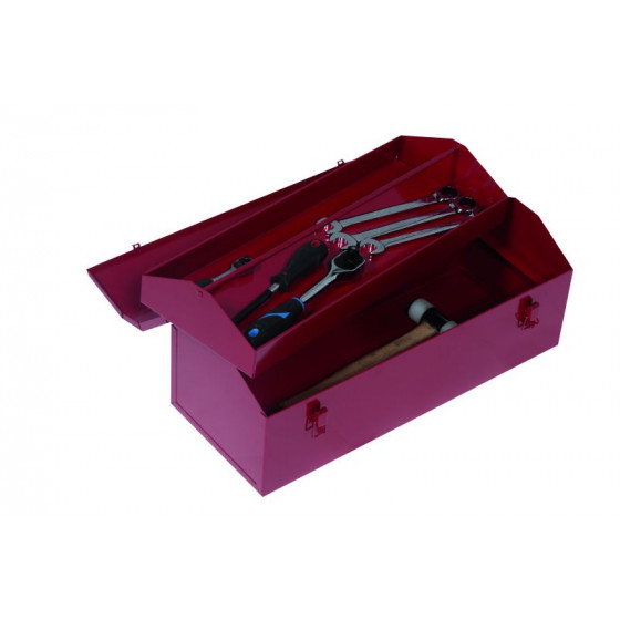 Coffret simple PREMIUM PRO - PREMIUM METAL RUBI  530x210x185 avec plateau- CP540