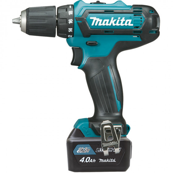 Perceuse visseuse 10,8 V Li-Ion 4 Ah CXT Ø 10 mm MAKITA - DF331DSMJ