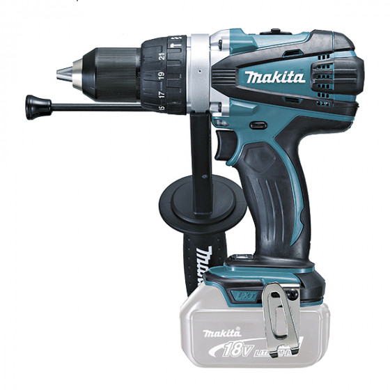 Perceuse visseuse à percussion 18 V Li-Ion Ø 13 mm (Machine seule) MAKITA - DHP458Z