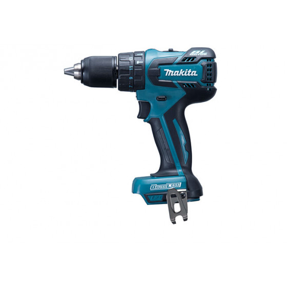 Perceuse visseuse à percussion MAKITA 18 V Li-Ion 4 Ah Ø 13 mm ( vendu sans batterie, ni chargeur ) - DHP459Z