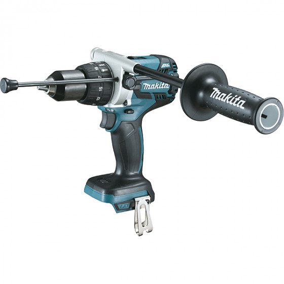 Perceuse visseuse à percussion 18 V Li-Ion Ø 13 mm (Machine seule) MAKITA - DHP481Z