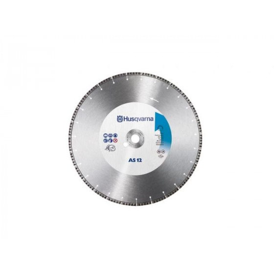 DISQUE DIAMANT HUSQVARNA AS 12 Ø 350 AL 25,4/20 -543080825