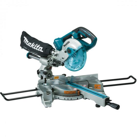Scie radiale 36 V => 2 x 18 V Ø 190 mm (Machine seule) MAKITA - DLS714Z