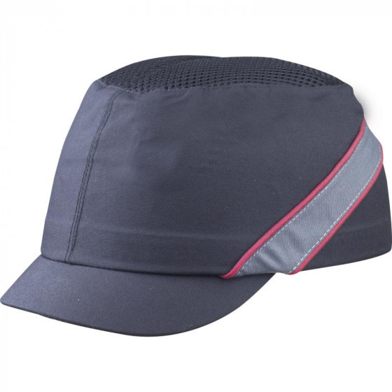 CASQUETTE ANTI-HEURT TYPE BASE-BALL AIR COLTAN NOIR VISIERE 3CM DELTA PLUS -COLTAAINOMI
