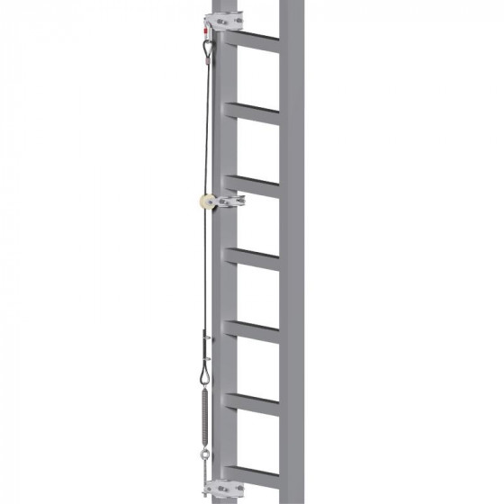 DELTA PLUS-  SUPPORT D'ASSURAGE Ø 8 mm POUR ASCAB 3 LE METRE- AN025