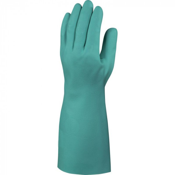GANT NITRILE FLOQUÉ  DELTA PLUS- LONG. 40 CM - EP. 0,50 MM-NITREX VE840- VE840VE0