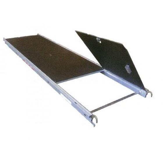 Plancher alu/bois avec trappe ALTRAD 0.85 M * 3 M - G385T