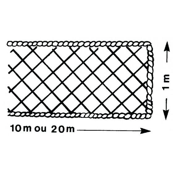 Filet périphérique ALTRAD avec ralingue Ø 8 mm - P6225