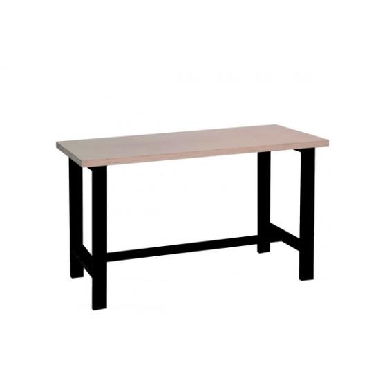 Etabli SORI  Lg 1500 avec plan de travail en bois - E150B