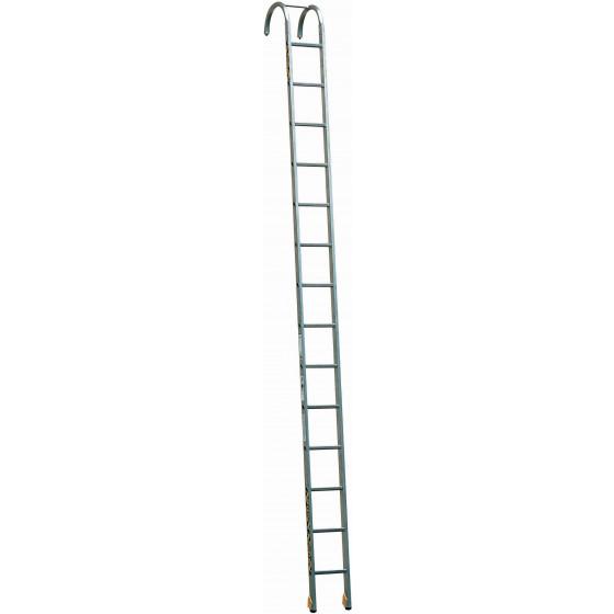 CENTAURE-Echelle aluminium à crochets pour incendie et secours-418114