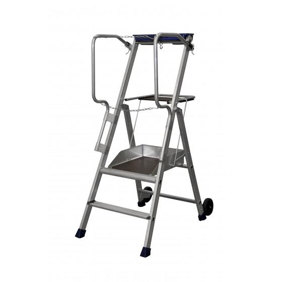 Duarib- Plates-formes individuelles roulantes (PIR/PIRL) Hauteur travail : 2,45 m - Tandempro F2