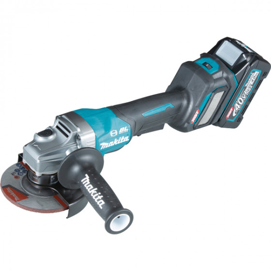 Meuleuse MAKITA Ø 125 mm 40 V max Li-Ion 4 Ah - GA029GM201