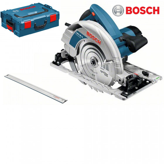 BOSCH OUTILLAGE- Scie circulaire GKS 85 G + FSN 1600Professional- 060157A902