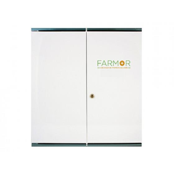 Armoire à pharmacie blanche vide 2 portes grand modèle FARMOR-ARM 4003 DG