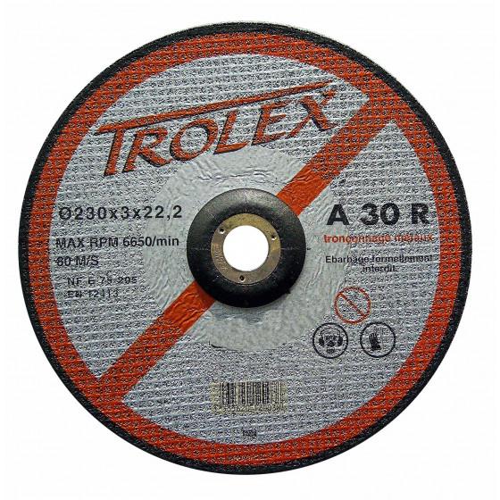 Disque TROLEX A30R Métaux Ø 125  alésage 22.2 HUSQVARNA-543059223