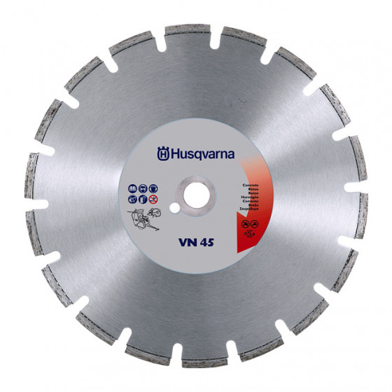 Disque diamant VN 45 Ø350 AL 25,4/20 HUSQVARNA- 543067242