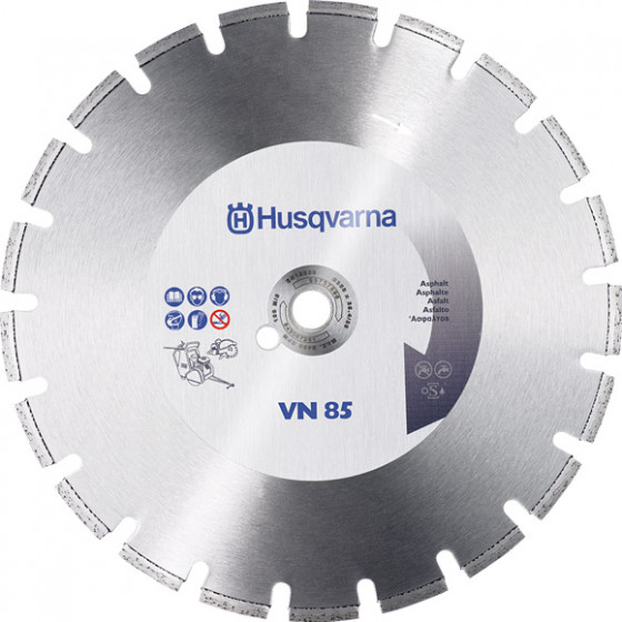 Disque diamants VN 85 Ø 500 AL 25,4 asphalte HUSQVARNA