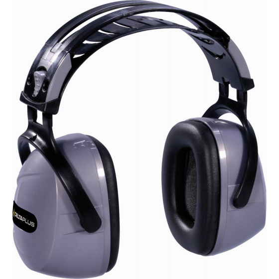 CASQUE ANTIBRUIT DELTA PLUS - SNR 33 dB-INTERGR