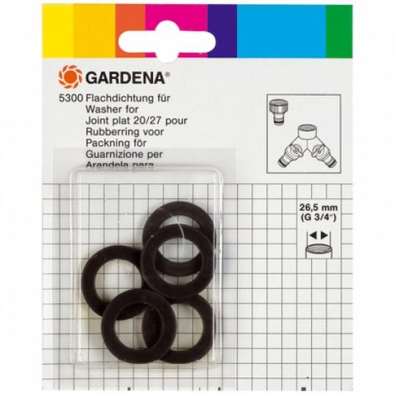 GARDENA-Joints GARDENA ;Contenu : 5 joints- 5300-20