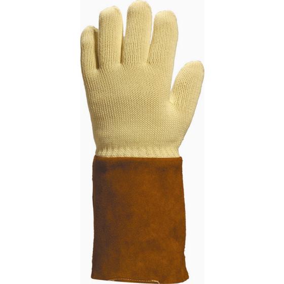 delta plus gant kevlar anti chaleur 250 c avec manchette kca1509 gants de travail par bati avenue. Black Bedroom Furniture Sets. Home Design Ideas