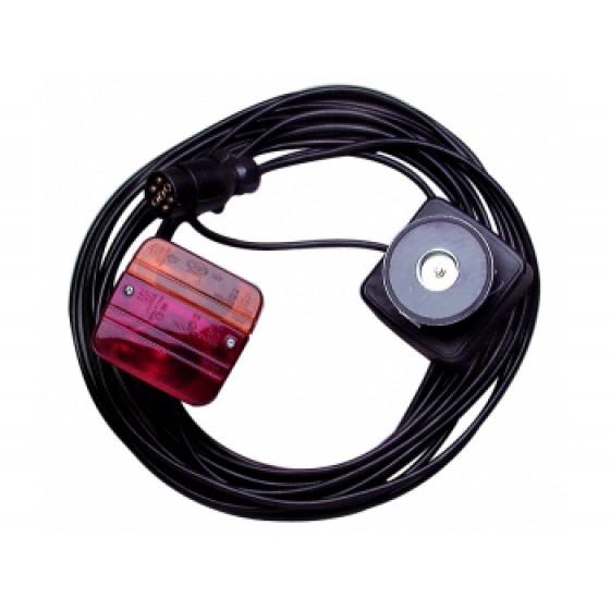SODISE- Kit de signalisation arrière magnétique de 7,5 m - 16137