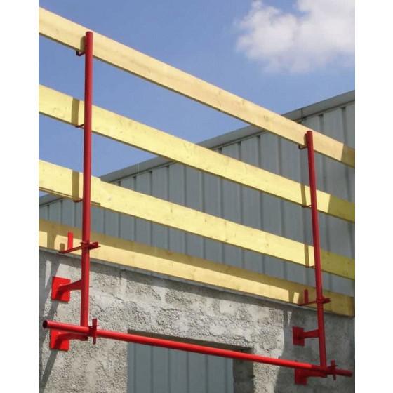ALTRAD- Garde corps protect. verticale 1.80 m peint  -27000201
