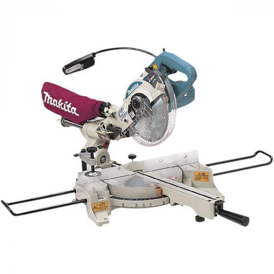 Scie radiale laser Ø 190 mm + établi MAKITA - LS0714FL