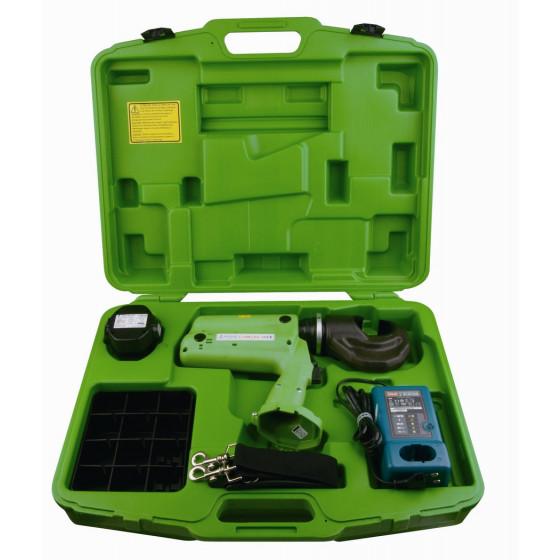 DELTA PLUS- Machine à sertir composée d'un jeu de matrice, d'un chargeur et d'une batterie -LV528